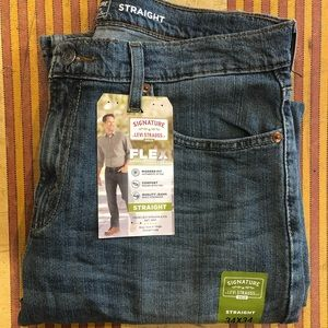 Levi Strauss Signature Flex straight Leg 34/34